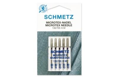 130/705 H-M Schmetz иглы шелк (набор 5 шт.)