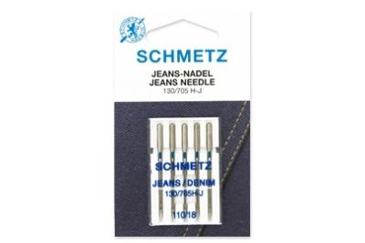 130/705 H-J Schmetz иглы джинс (5 шт.)