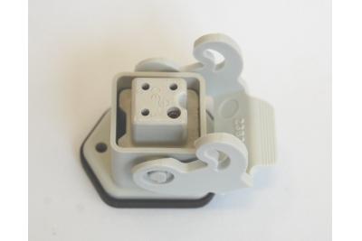 Розетка утюга прямая (4 контакта)